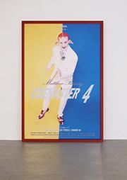 <b>Matthew Barney</b><br> Cremaster 4, 1995<br> Offsetlithographie auf Karton kaschiert, 41/100<br> signiert und nummeriert<br> 153 x 101,5 cm<br> Hrsg.: Artengel and Matthew Barney, London