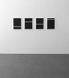 <b>Michal Skoda</b><br> P 21 – P 24, 2009<br> Acryl auf MDF Platten<br> signiert und datiert<br> 50 x 35 cm