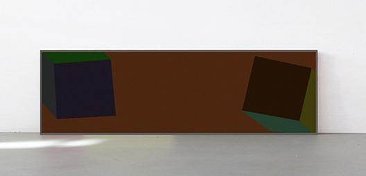 <b>Sol LeWitt</b><br> Cubes with Colours Superimposed, 1988<br> Siebdruck in 25 Farben auf Arches Cover, 16/30<br> signiert und nummeriert<br> 76 x 241 cm