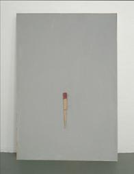 <b>Ernesto Tatafiore</b><br> Ohne Titel, 1989<br> Mischtechnik und Objekt auf Leinwand<br> signiert<br> 100 x 70 x 1,5 cm