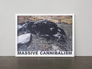 <strong>Sterling Ruby </strong> <br>  Massive Cannibalism, 2009<br> Tintenstrahldruck auf leichtem Karton, 11/50<br> signiert und nummeriert<br> 114,5 x 153,5 cm<br> Hrsg.: Monopol-Editionen, Berlin