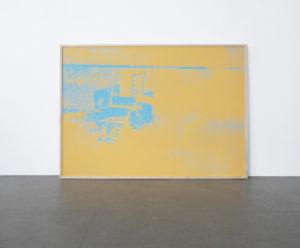<strong>Andy Warhol </strong> <br>  Electric Chair, 1971<br> Siebdruck auf Papier, 206/250<br> verso: signiert und datiert, gestempelt nummeriert<br> 90,2 x 121,9 cm<br> Hrsg.: Bruno Bischofberger, Zürich /CH