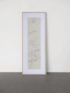 <strong>Joseph Beuys </strong> <br>  Flug des Adlers ins Tal und zurück, 1978<br> Lithographie auf grauen Karton, 75/120<br> signiert und nummeriert<br> 103 x 26 cm<br> Hrsg.: Edizioni Lucio Amelio, Neapel