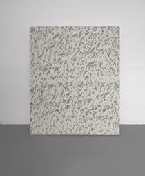 <b>Wayne Warren</b><br> WDNLL White, 2008<br> Acryl auf Leinwand<br> signiert und datiert<br> 71,5 x 56 cm